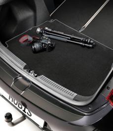 Автокилим в багажник велюр/гума