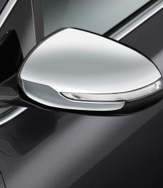 Накладка стальна на дзеркало к-кт Sportage