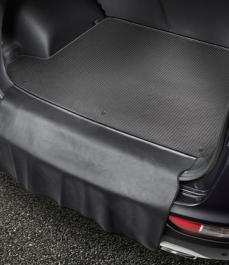 Автокилим в багажник велюр/гума Sportage