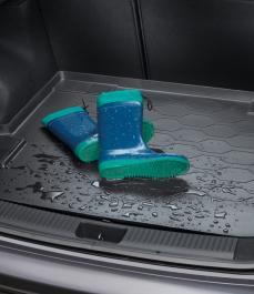 Килимок пластиковий в багажник (SW)