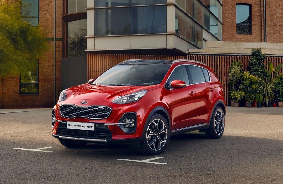 Kia Sportage став беззаперечним лідером ринку нових автомобілів в Україні!