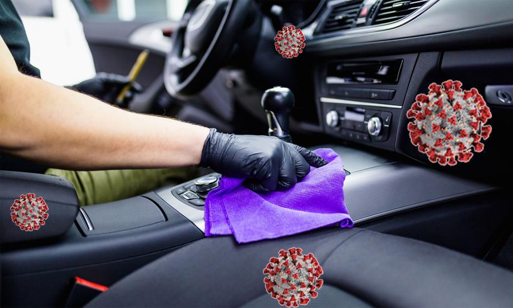 Антисептична дезінфекція автомобіля KIA
